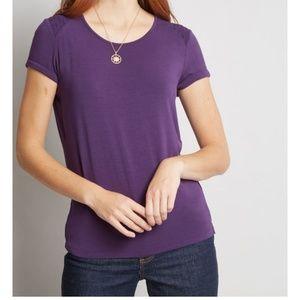 Modcloth purple tee